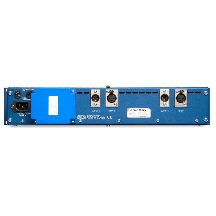TubeTech MP2A 2CH - вид сзади