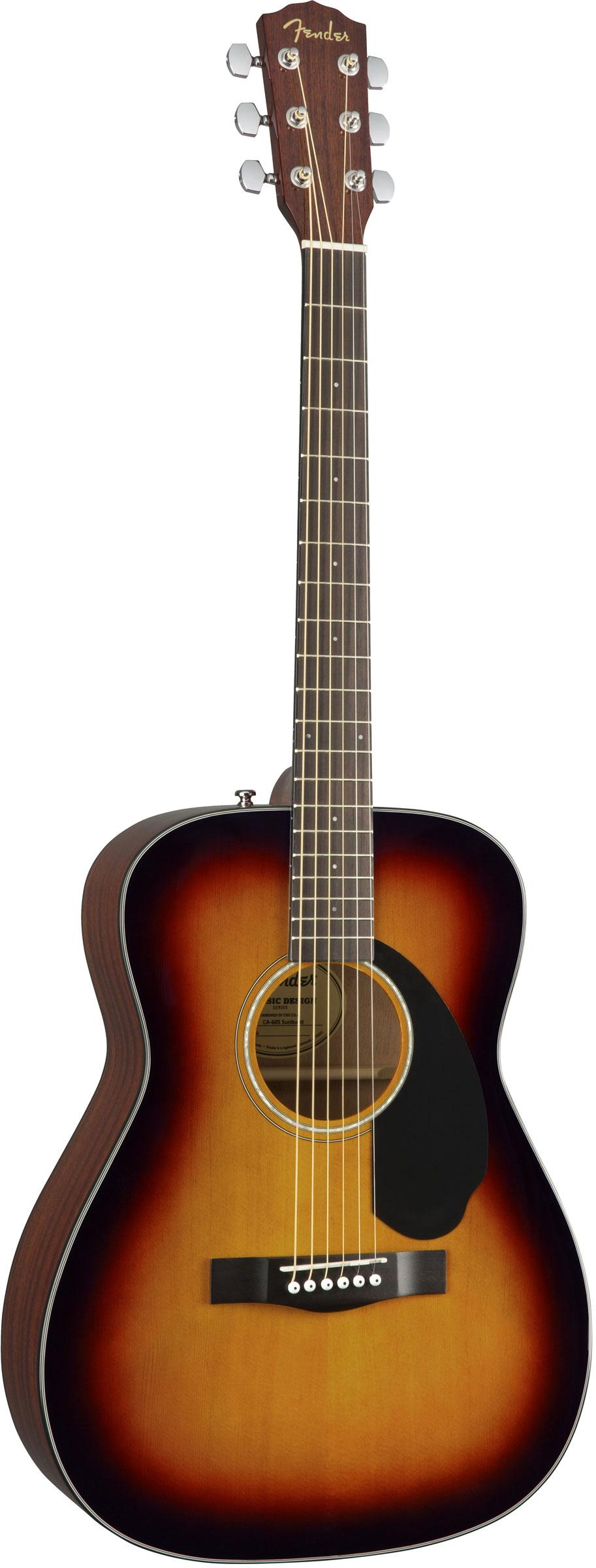 Fender CC-60S 3-хцветный санберст