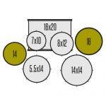 Ddrum D120B MB - конфигурация
